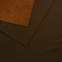 1mm Smooth Cowhide Brown A4